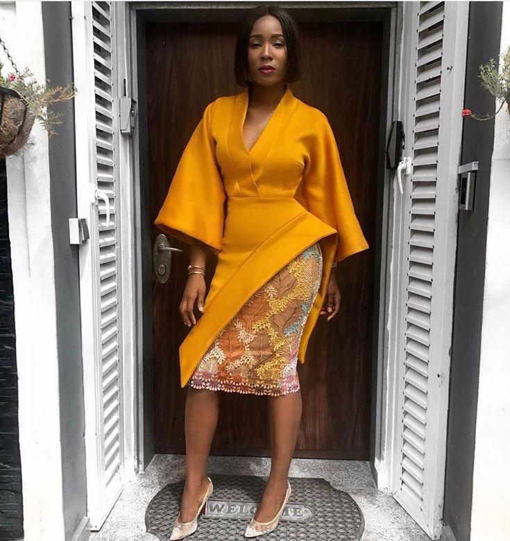 Creative Ankara Gown Styles for Ladies