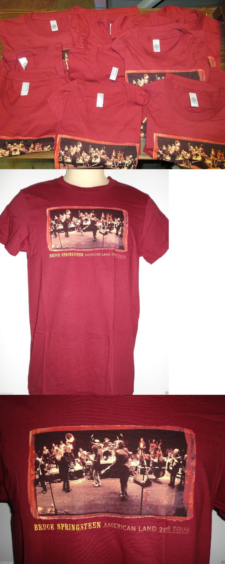 Girls 41965: New - 50X Wholesale Lot Bruce Springsteen Concert Band Music T-Shirt Girls Large -> BUY IT NOW ONLY: $129.99 on eBay!
