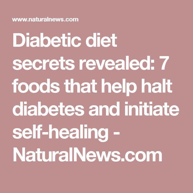 Diabetic diet secrets revealed: 7 foods that help halt diabetes and initiate self-healing - NaturalNews.com