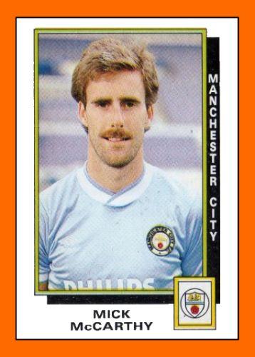 MICK McCARTHY Manchester City (1986)