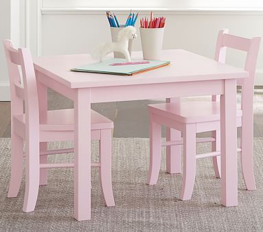 My First Play Table & Chairs, Petal Pink #pbkids