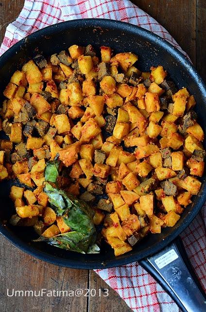 Simply Cooking and Baking...: Sambal Goreng Ati Kentang