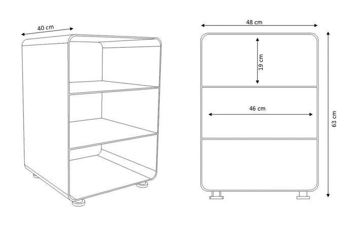 DER FALL Design und Beratung – Müller Stereo Möbel RW600-1