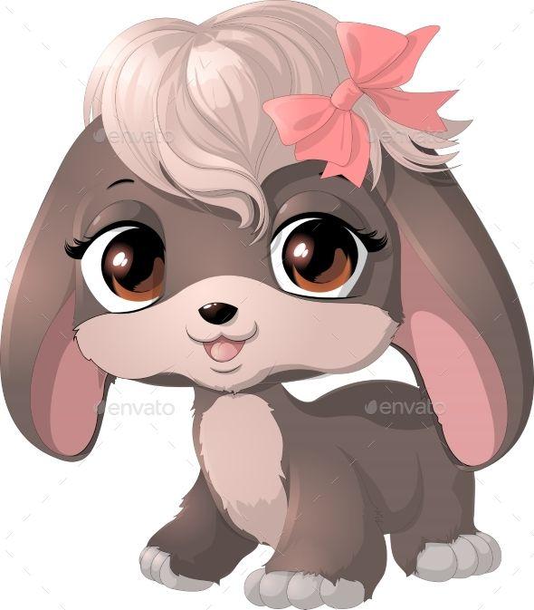Happy Cartoon Puppy Puppy Cartoon Cartoon Clip Art Happy Cartoon