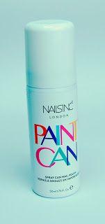 Alles rund um Kosmetik: Nailsinc Paint Can Spray Nagellack
