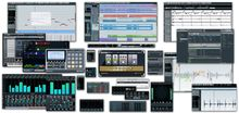 Music Sequencer-- (or simply sequencer) is a device or application software that can record, edit, or play back music, by handling note and performance information in several forms, typically CV/Gate, MIDI, or Open Sound Control (OSC), and possibly audio and automation data for DAWs and plug-ins.