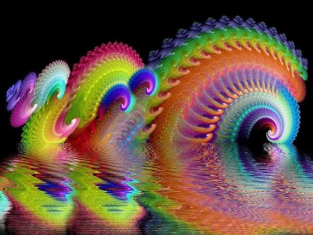 Fractals: Optical Illusions, Beautiful Colors, Psychedelic Art, Rainbows, Digital Art, Fractals Art, Fractalart, Desktop Wallpapers, A Frames