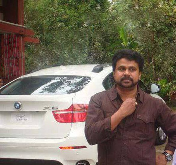Malayalam Actors with their Wheels-Mammootty,Mohanlal Cars Dileep with his BMW X6-1621