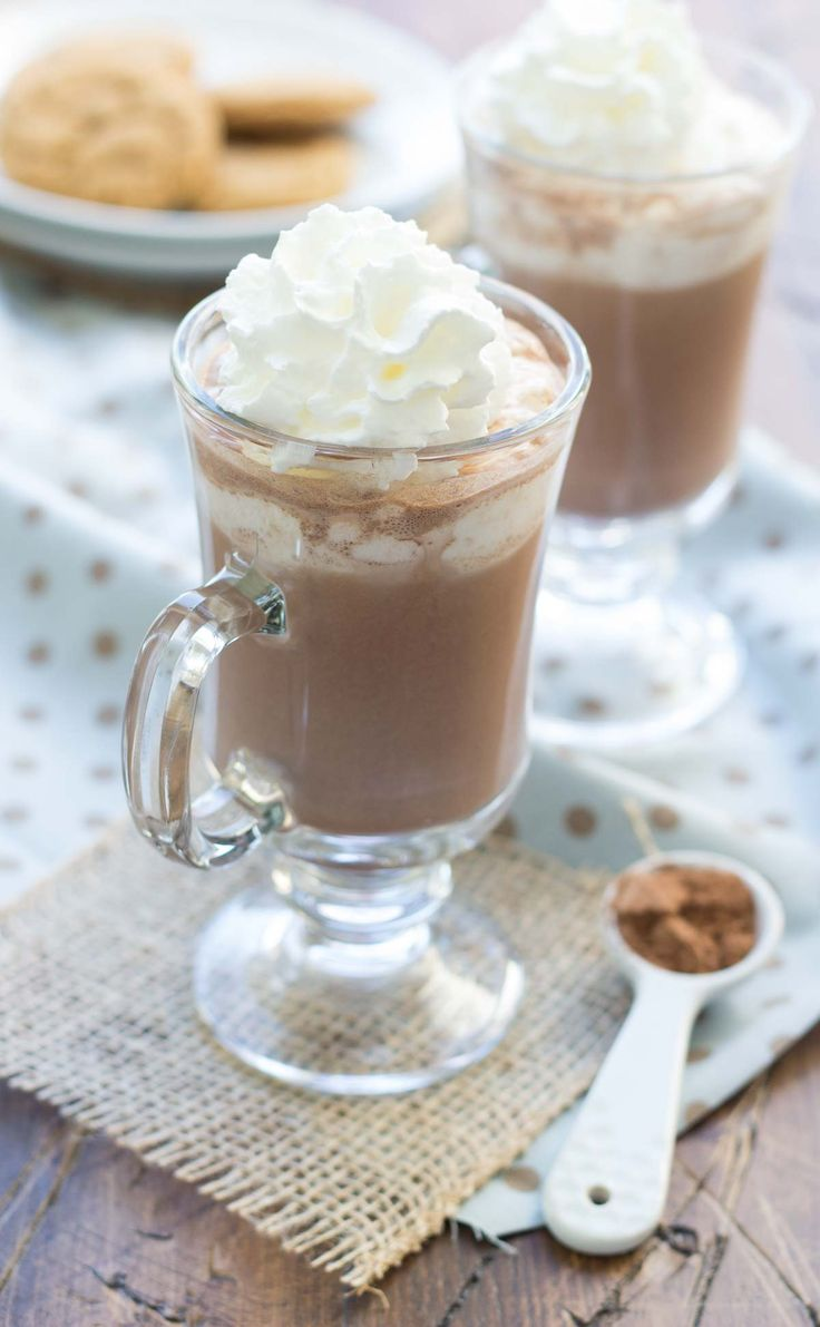 ... | Hot chocolate, Frozen hot chocolate and Hot chocolate recipes