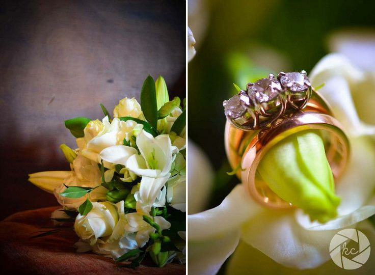 Flowers and RIngs