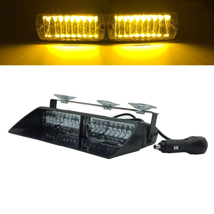 ==> [Free Shipping] Buy Best 48W S2 Viper LED car Windshield Strobe Light auto Flashing Signal Emergency light Fireman Police led Warning Lights 12V Online with LOWEST Price | 32807767505
