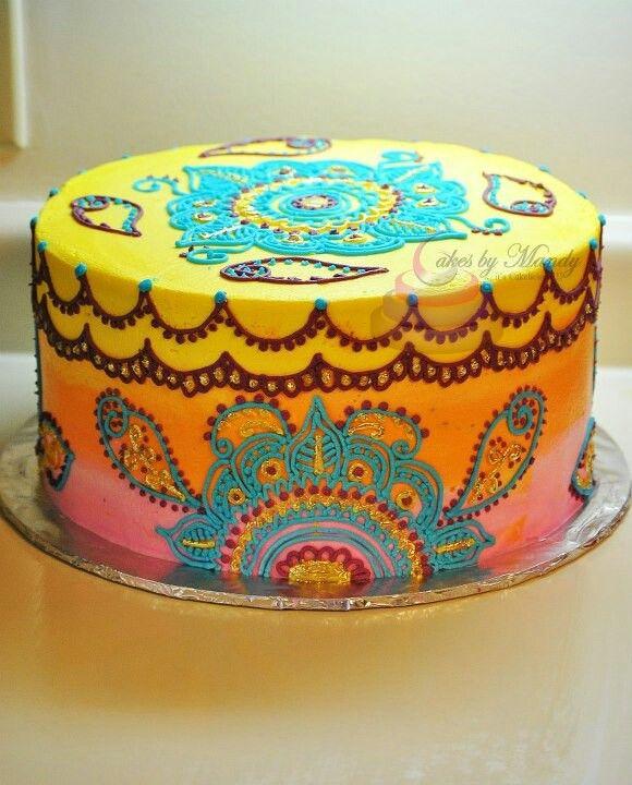 Indian/Bohemian cake