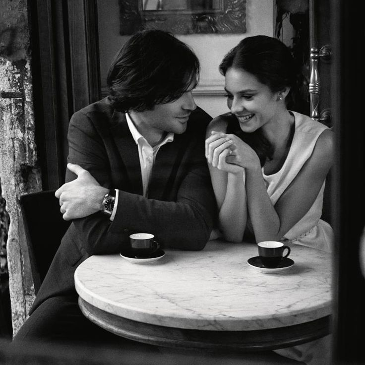Картинки как девушка пьет кофе с парнем