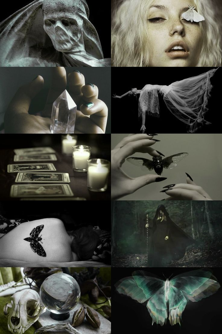 personal aesthetic request: moths, necromancy, divination more here // request here