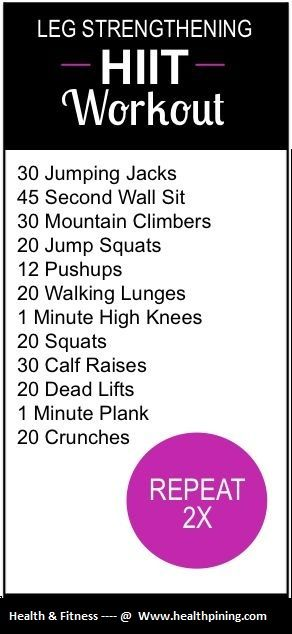 Looks like a good home workout warmup // 20 minutes cardio then this 2x