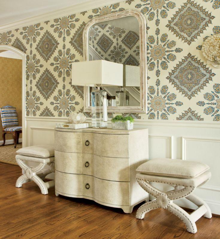 Entryway Wallpaper Ideas: 17 Best Ideas About Foyer Wallpaper On Pinterest