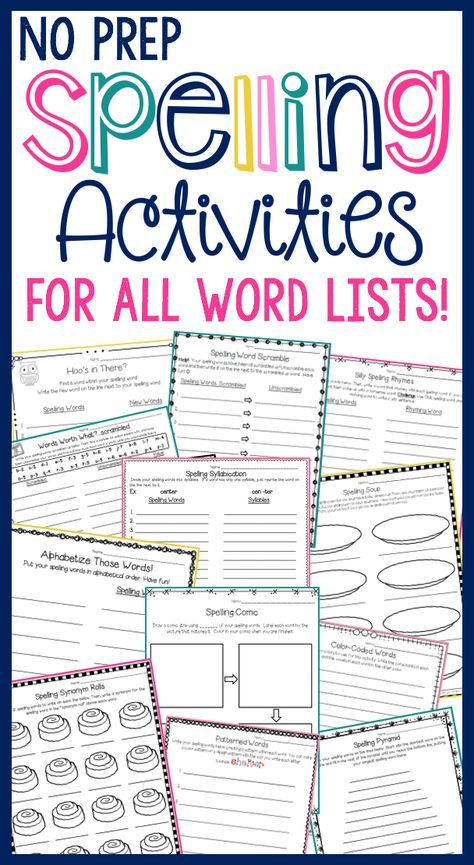 1000 ideas about spelling activities on pinterest spelling practice spelling word activities. Black Bedroom Furniture Sets. Home Design Ideas