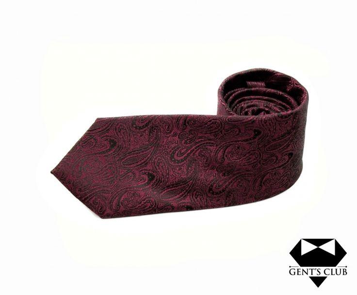 Accessories for gentlemen. Gent's Club brand  Paisley tie www.gents-club.ro