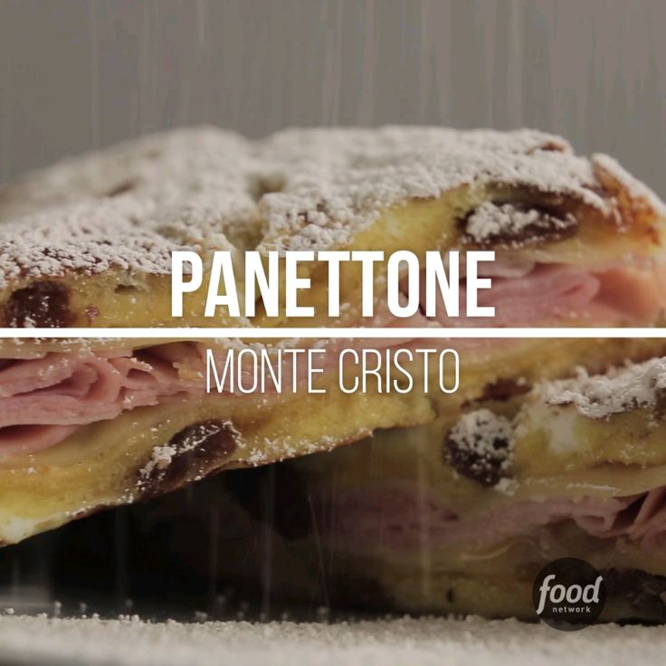 Use your leftover panettone as the base for a monte cristo sandwhich! It's ooey-gooey and extremely delicious!