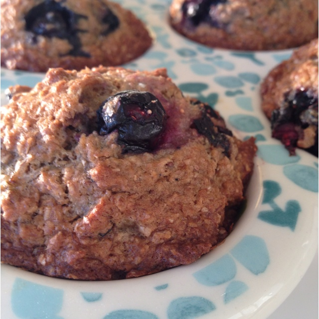 Blueberry Banana Bran Muffins | Cakes/cookies/muffins | Pinterest