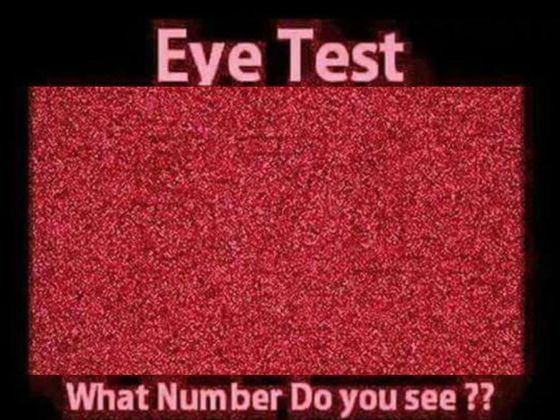 Can You Actually See As Well As You Think You Can?  I got every one right. I have glasses to focus my eyes, I didn't use my glasses. I think it's my artistic training and perception.