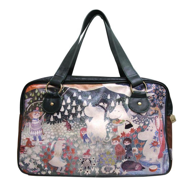#Moomin Dangerous Journey Overnight Bag #disasterdesigns