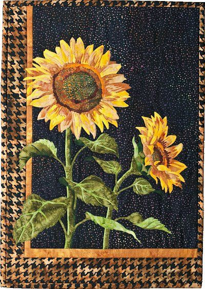 Sunflower Quilt Pattern - The Virginia Quilter