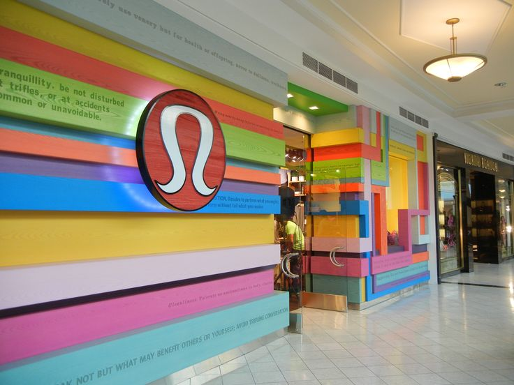 lululemon store fronts - Google Search