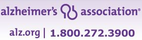 24/7/365 help and resources from the Alzheimer's Association
