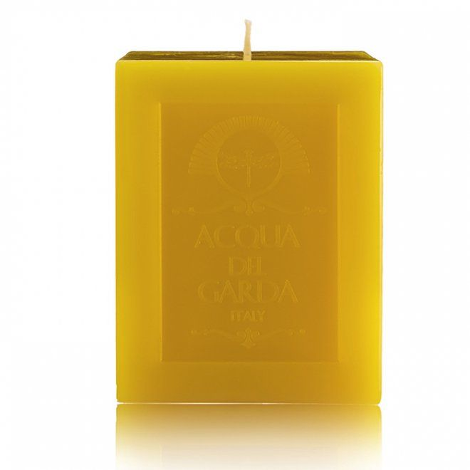 Scented Candle Musk and Lemongrass 1 KG - Acqua del Garda