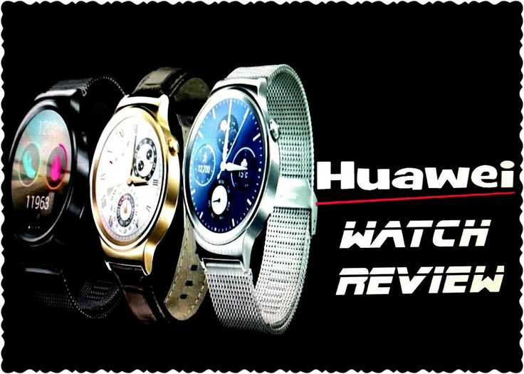 Huawei Watch Review|Умные часы Huawei Watch Android