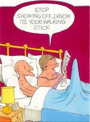 Oh gotta love geriatric jokes :)