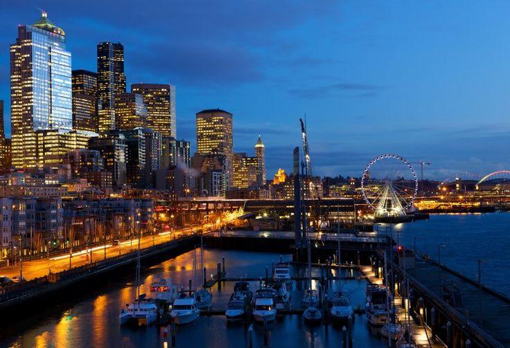 Waterfront and Great Wheel [Seattle, Washington]