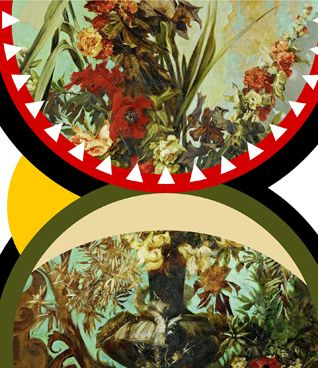 Magnus Gjoen: Die Young As Late As Possible, 2015 www.kidsofdada.com/products/die-young-as-late-as-possible-2015 #art #collage #flowers #contemporaryart