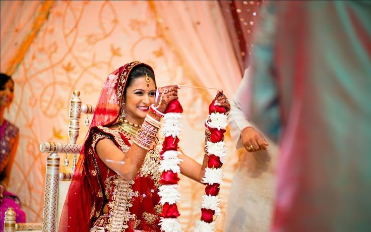 At the wedding day lots of traditional items were going to be seen.