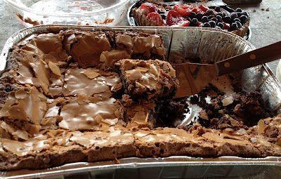 Paula Deen's Double Chocolate Ooey Gooey Cake   My 1st Word was Chocolate