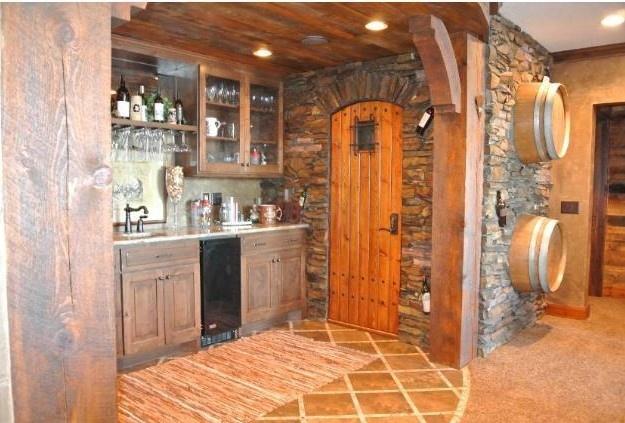 Basment Kitchen Bar