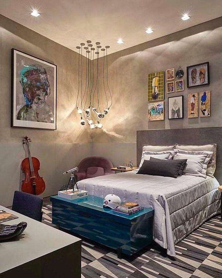 Desain Kamar Tidur Anak Laki Laki Atau Kamar Cowok Yang Elegan Terlihat Simple