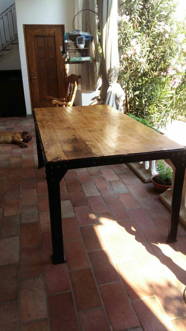 Oltre 25 fantastiche idee su tavolo in ferro su pinterest - Tavolo braccio di ferro ...