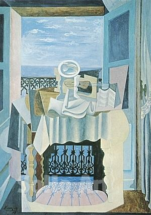 Pablo Picasso - Open Window at St. Raphael 1919