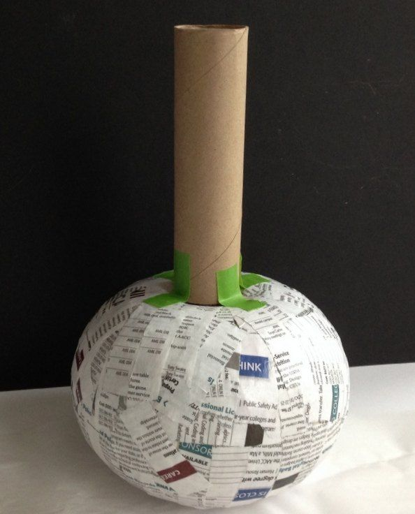 decoupage napkins on paper mache vases, decoupage, home decor, woodworking projects