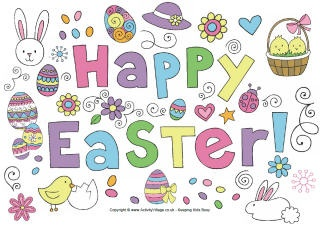 Easter activities, puzzles, games and crafts for kids to enjoy over the #Easterholidays