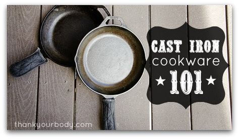 Cast Iron 101: How to use, clean, and season a cast iron skillet. Everyone should have cast iron in their kitchen!