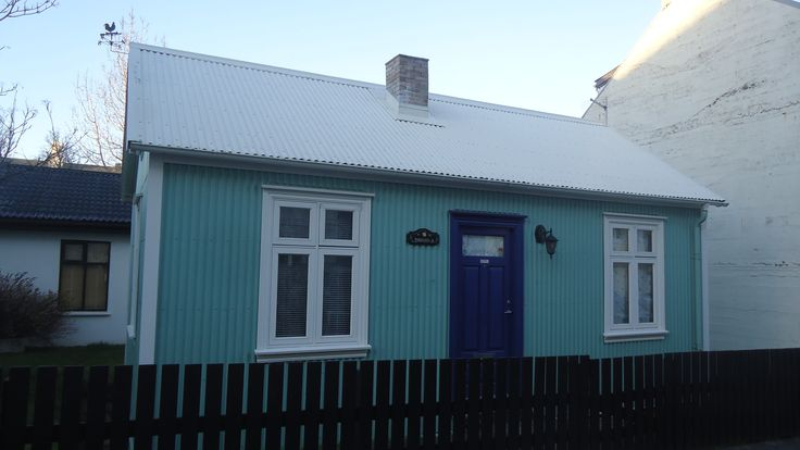A nice #house in central #Reykjavik, #Iceland.