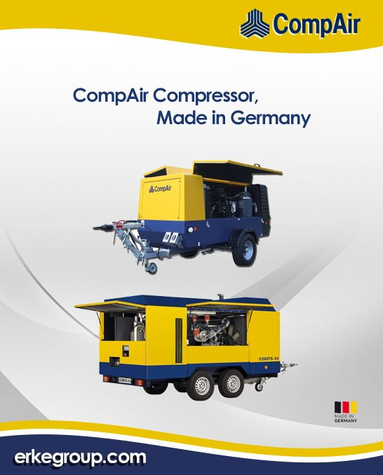 CompAir Compressor Made in Germany