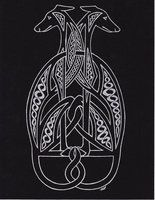Celtic Greyhounds by ~Melibells on deviantART
