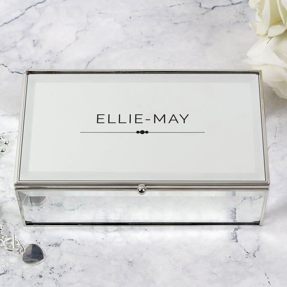 20+ Things remembered mirrored jewelry box ideas