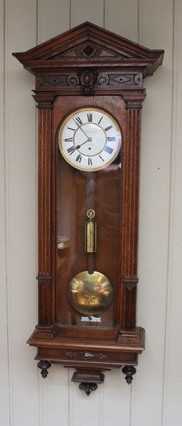 how to take apart a grandfather clock