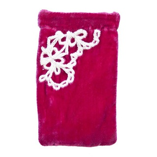 This gorgeous multi-media pouch is the most luxurious way to keep your i-phone, glasses, camera or mobile phone stylishly safe.