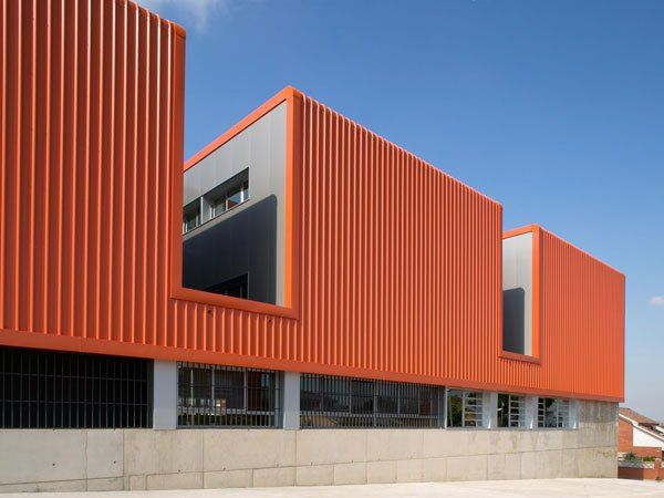 CEIP Rivo Rubeo. Primary school. Projects and works by Valor-Llimós arquitectura. #modern #architecture #jaumevalor